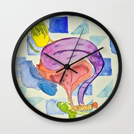 Outrageous Ovaries Wall Clock