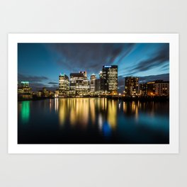 Blackwall Basin Art Print