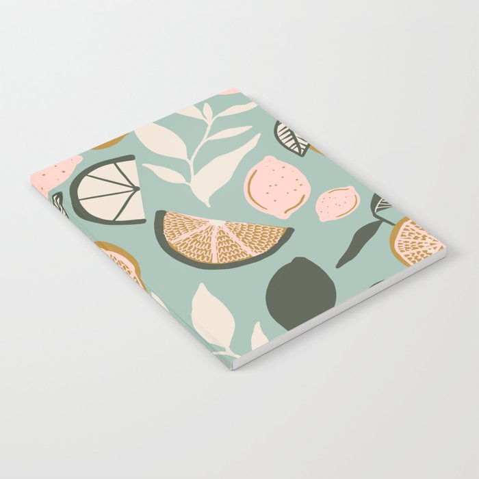 Indy Bloom Design Lemon Lime Notebook