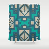 gatsby Shower Curtains featuring Gatsby by Kozza