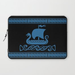 Drgon Boat - Blue Laptop Sleeve
