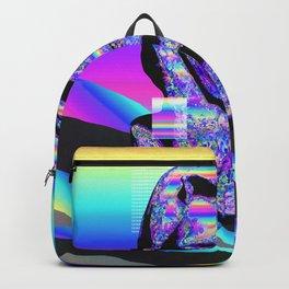Iridescent Skull Backpack
