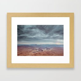 canyon country canyonlands national park Framed Art Print