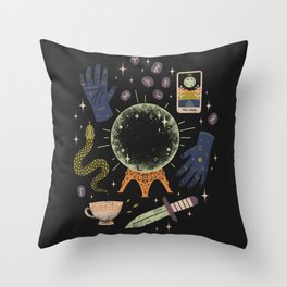 I See Your Future Throw Pillow