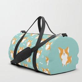 Sweet corgis pattern Duffle Bag