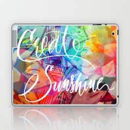Create Sunshine Laptop & iPad Skin