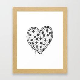 Heart of Italy Framed Art Print