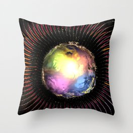 Mystic Illusion Throw Pillow
