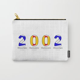 2002 - NAVY - My Year of Birth Carry-All Pouch