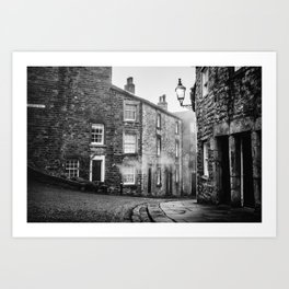 Castle Street, Lancaster Art Print
