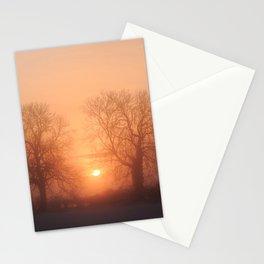 Misty Isle Sunset Stationery Cards