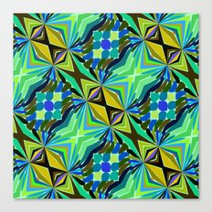 Colorful geometric abstract 14 Canvas Print