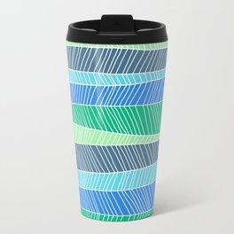 Beach Stripe (Cool) Travel Mug