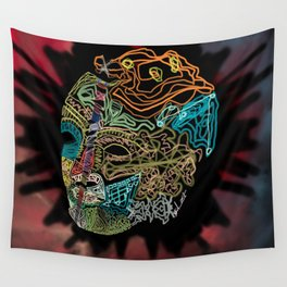 Sown Head Wall Tapestry