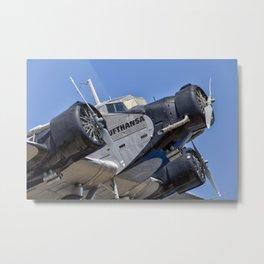 Junkers Ju52 Metal Print