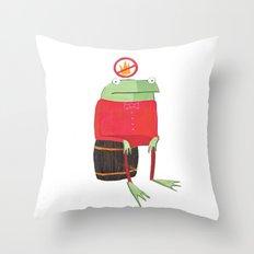 Proribbition Throw Pillow
