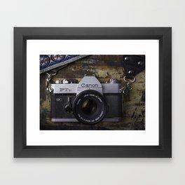 Canon Film Framed Art Print