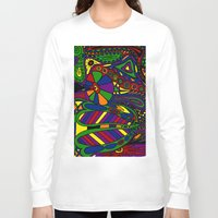 psychadelic Long Sleeve T-shirts featuring Psychadelic by Groolya