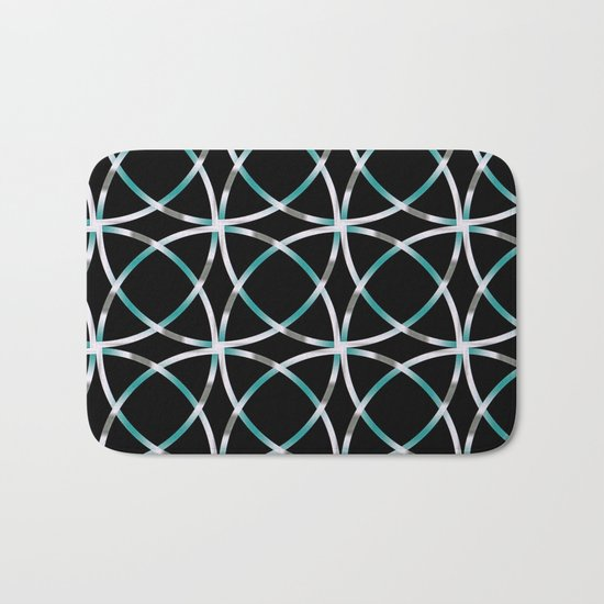 Intersecting Rings Fractal in TPGY Bath Mat