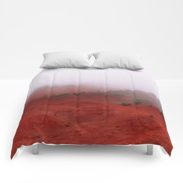 Red Land Comforters