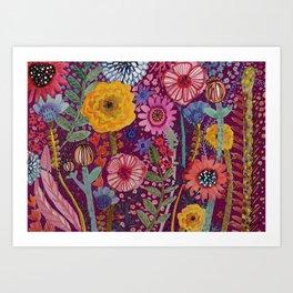 la reparation du jardinier Art Print