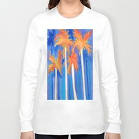 florida Long Sleeve T-shirts featuring Florida Autumn by Rosie Brown
