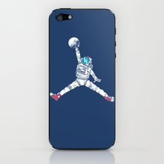 Space dunk iPhone & iPod Skin