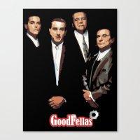 goodfellas Canvas Prints featuring GOODFELLAS by Rocky Rock