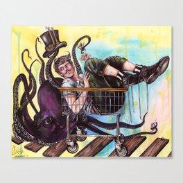 Mr. Whiplash Canvas Print