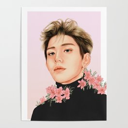 bloom [lucas nct] Poster
