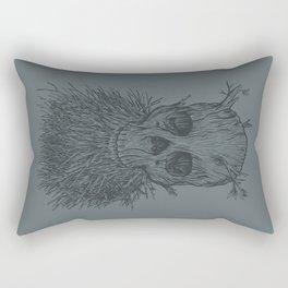The Lumbermancer (Grey) Rectangular Pillow