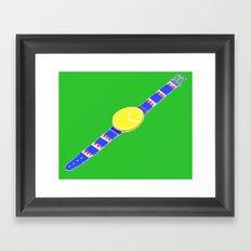 Watch_1 Framed Art Print