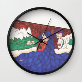Existance Wall Clock