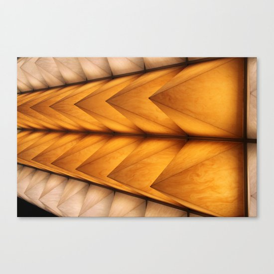 Kyoto spikes Canvas Print