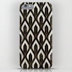 Art Deco Marble Pattern Slim Case iPhone 6s Plus