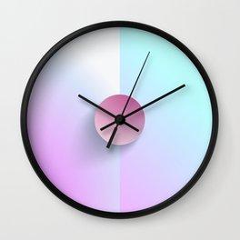 Brilliant Lavender Celeste Wall Clock