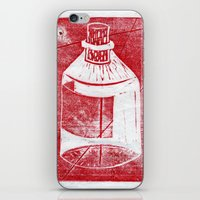 whisky iPhone & iPod Skins featuring Ol' Whisky Bottle by Shane Haarer