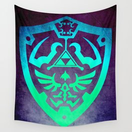 Zelda Shield Wall Tapestry