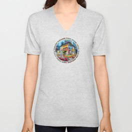 Times Square III Special Finale Edition badge Unisex V-Neck