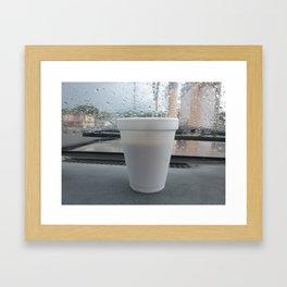 cafe boricua Framed Art Print