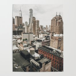 New York City View Poster