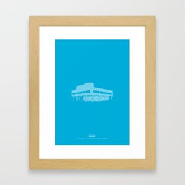 Villa Savoye Framed Art Print