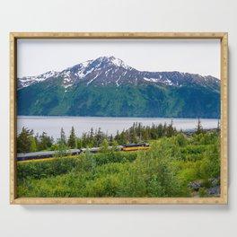 Alaska Passenger Train - Bird Point Serving Tray