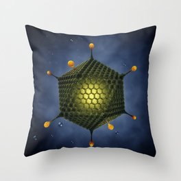 Adenovirus Throw Pillow