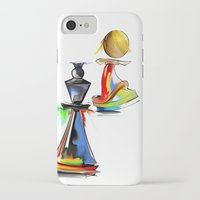 chess iPhone & iPod Cases featuring chess by tatiana-teni
