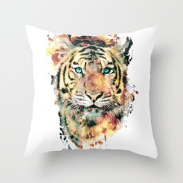 Tiger III Throw Pillow