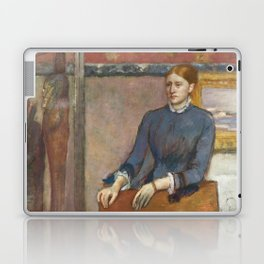 Helene Rouart in her Father's Study by Edgar Degas Laptop & iPad Skin