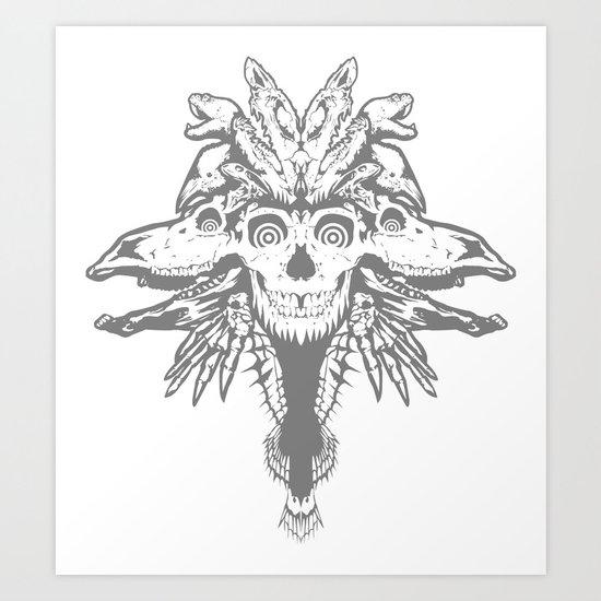 GOD III Art Print