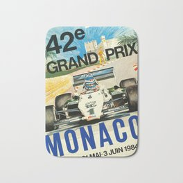 Monaco 1984 Bath Mat