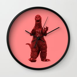 Redzilla Wall Clock